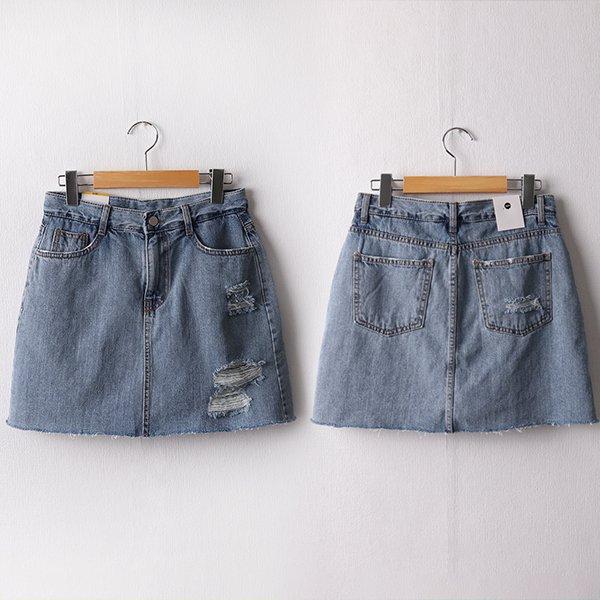104 캔디워싱컷팅H스커트 DDOD227 도매 배송대행 미시옷 임부복
