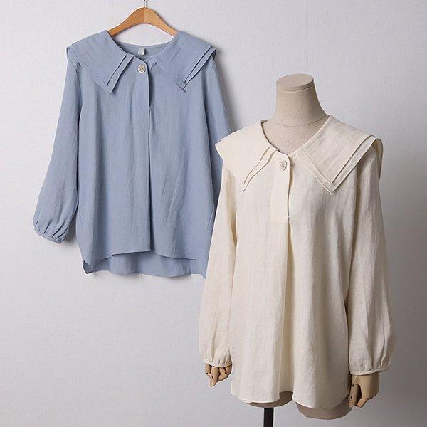 104 올리비아린넨블라우스 DPED237 도매 배송대행 미시옷 임부복