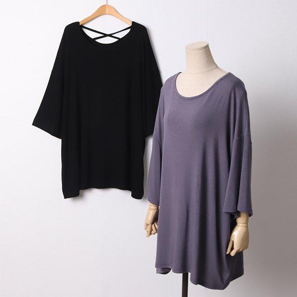 104 젤로실키루즈핏반팔티 DRAD238 도매 배송대행 미시옷 임부복
