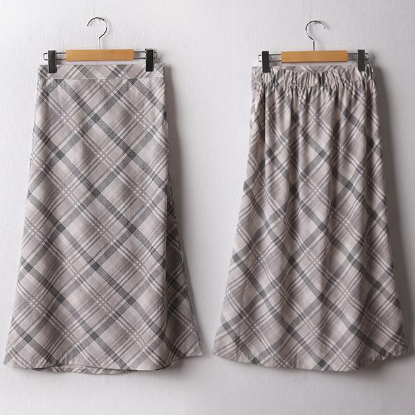 104 레시피A라인롱스커트 DNND239 도매 배송대행 미시옷 임부복