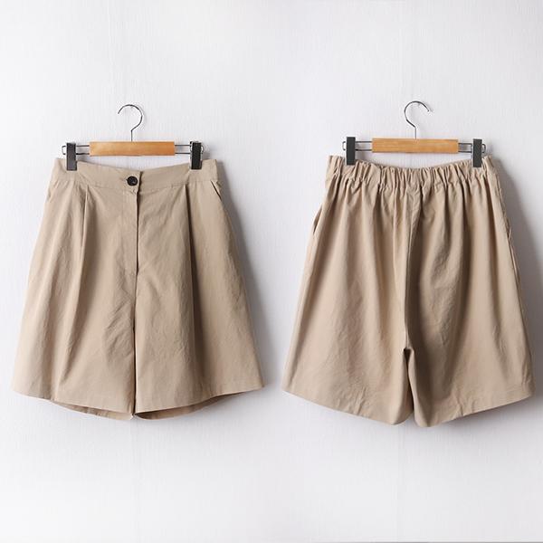 104 디어버튼일자핏반바지 DCHD241 도매 배송대행 미시옷 임부복