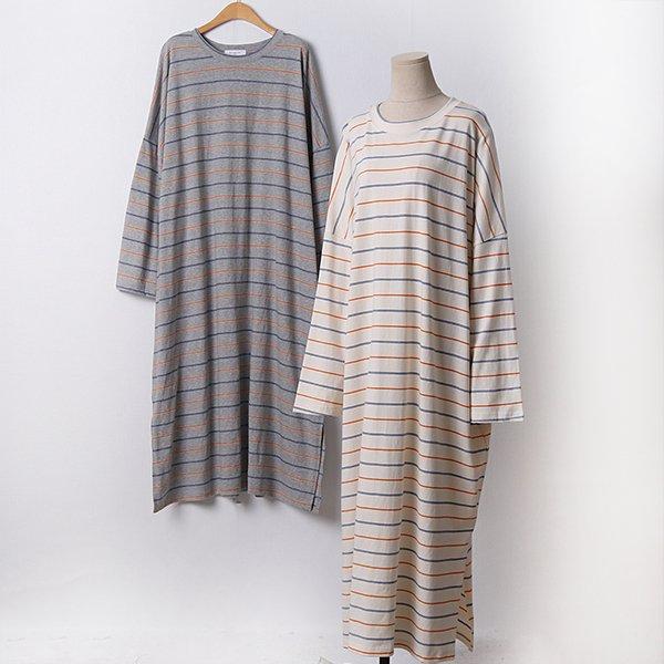 104 크림잔단가라롱원피스 DMGD253 도매 배송대행 미시옷 임부복