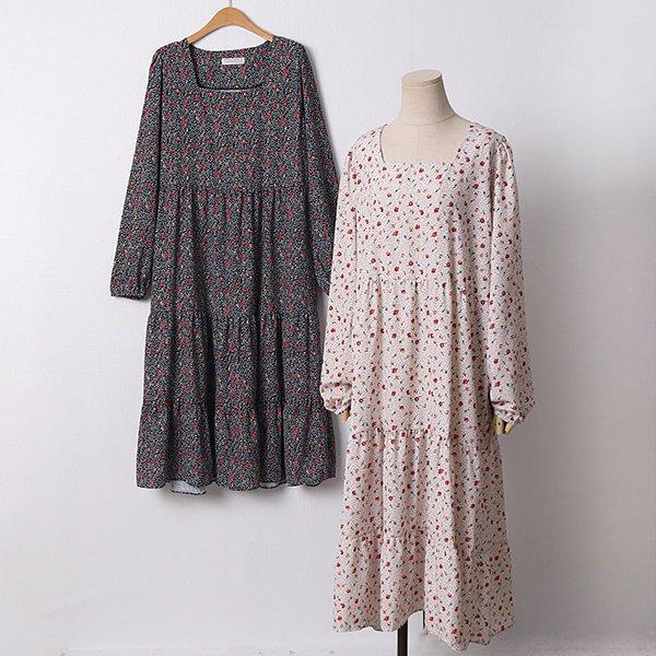 104 플로랄스퀘어넥원피스 DYPD263 도매 배송대행 미시옷 임부복