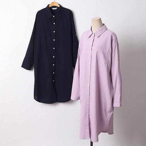 104 데일리사이드포켓셔츠 DLYD270 도매 배송대행 미시옷 임부복