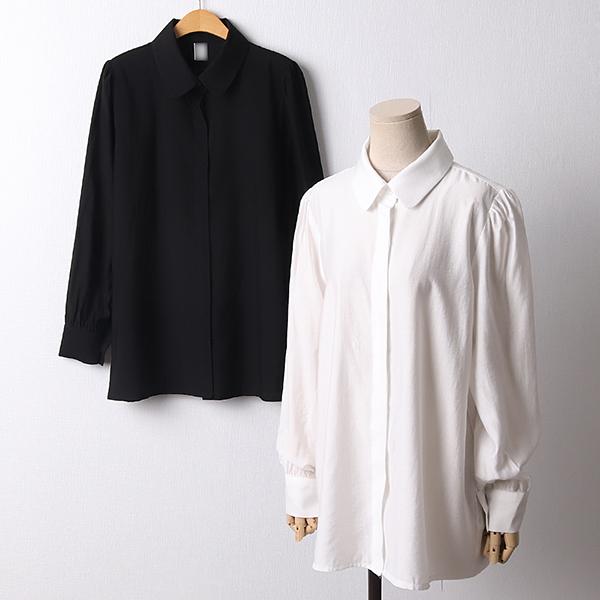 104 베이직레이온퍼프셔츠 DCRD274 도매 배송대행 미시옷 임부복