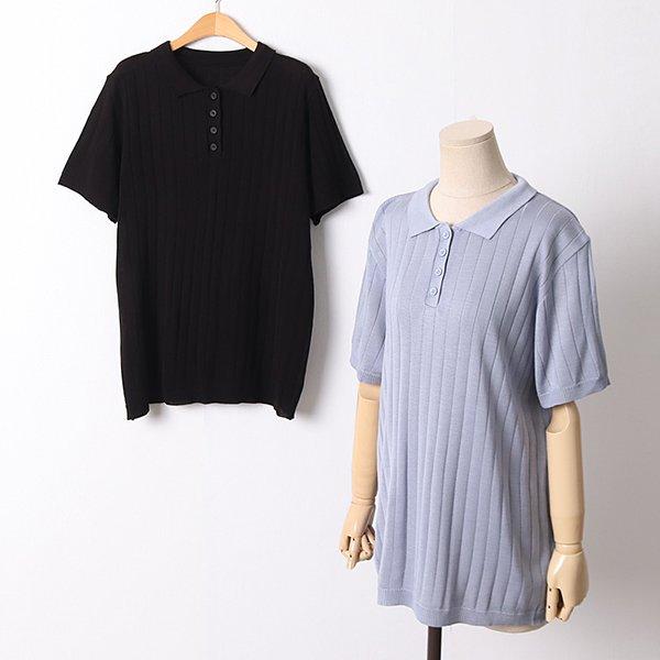 104 퀸즈버튼골지카라반팔 DEBD368 도매 배송대행 미시옷 임부복