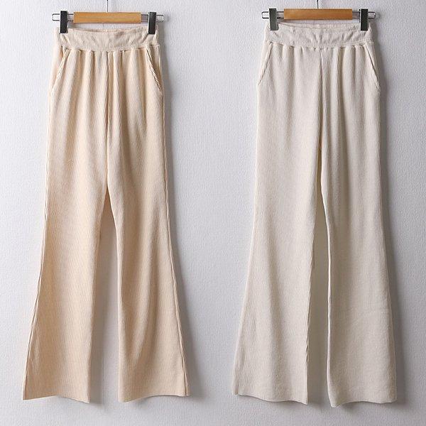 104 쫀쫀한골지부츠컷팬츠 DDDD374 도매 배송대행 미시옷 임부복