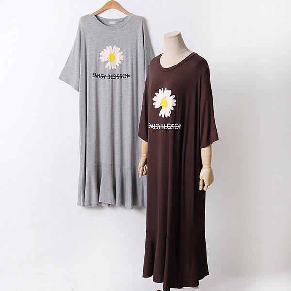 104 데이지루즈셔링원피스 DRAD381 도매 배송대행 미시옷 임부복