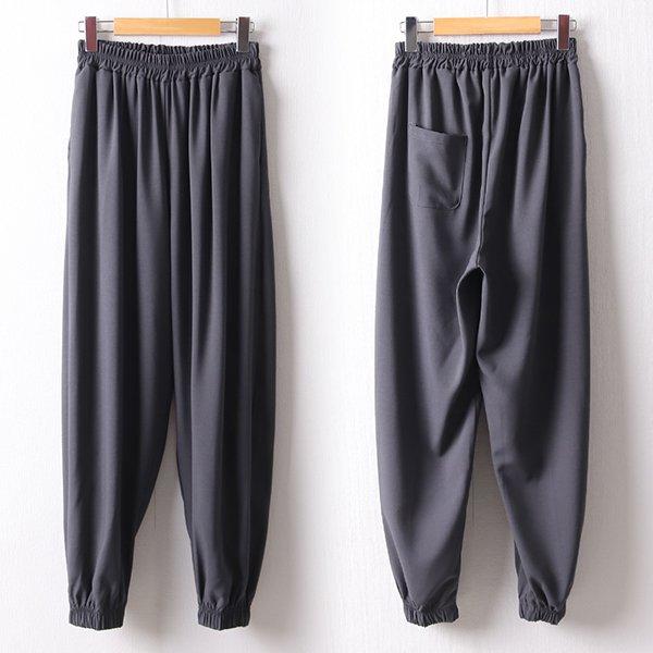 104 무지올밴딩조거핏팬츠 DNND389 도매 배송대행 미시옷 임부복
