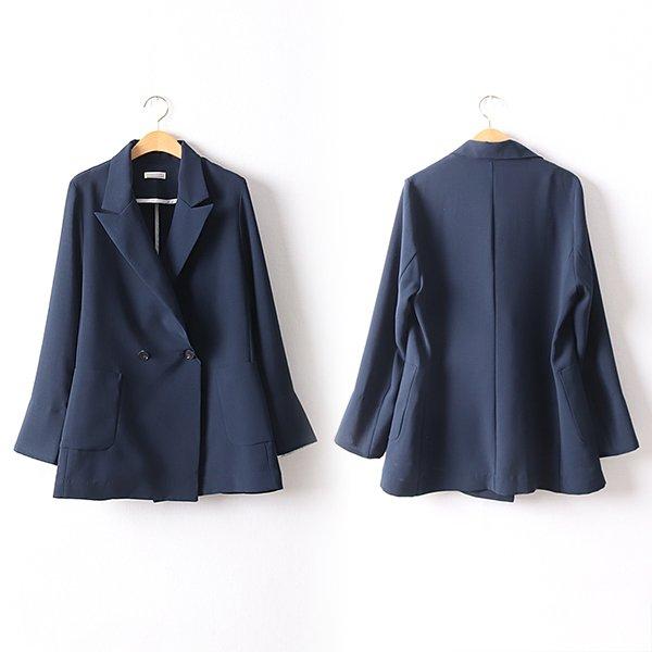 105 피오니투버튼카라자켓 DBGD411 도매 배송대행 미시옷 임부복