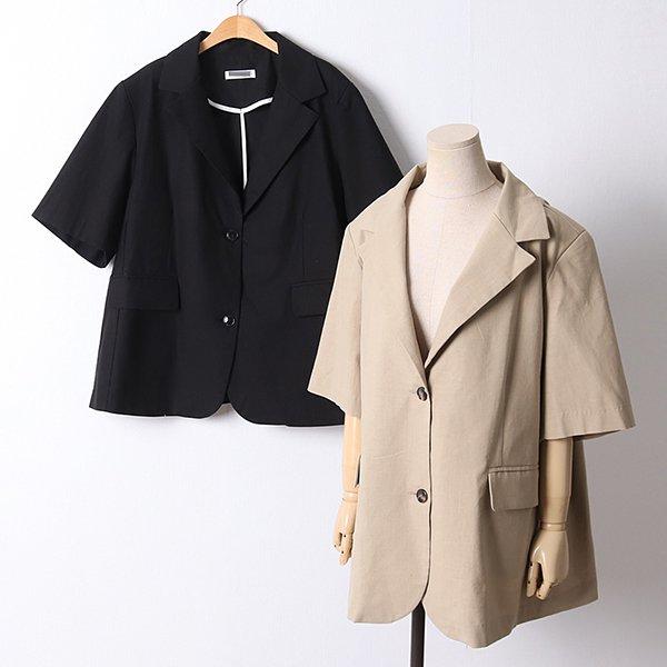 105 썸머프렌즈오버핏자켓 DLTD448 도매 배송대행 미시옷 임부복