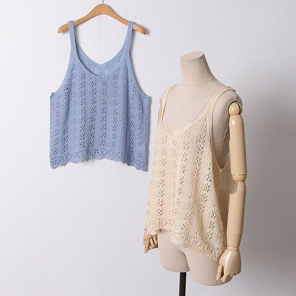 105 플렌티스카시미니조끼 DRMD482 도매 배송대행 미시옷 임부복