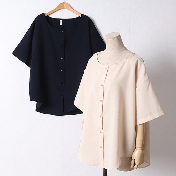 105 크로플가오리블라우스 DLTD513 도매 배송대행 미시옷 임부복