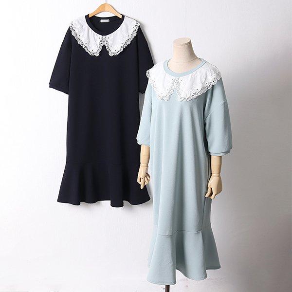 105 메이레이스넥롱원피스 DOLD514 도매 배송대행 미시옷 임부복