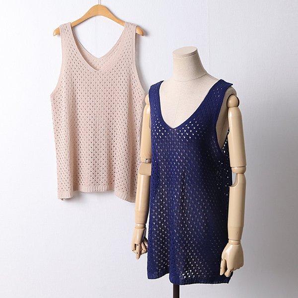 106 클릭망사스카시베스트 DEBD535 도매 배송대행 미시옷 임부복
