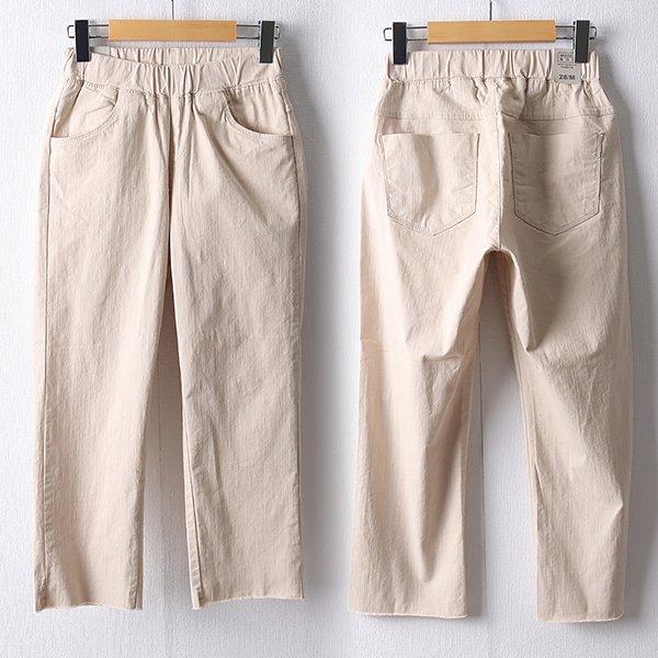 106 봉봉컷팅밴딩8부팬츠 DMDD551 도매 배송대행 미시옷 임부복