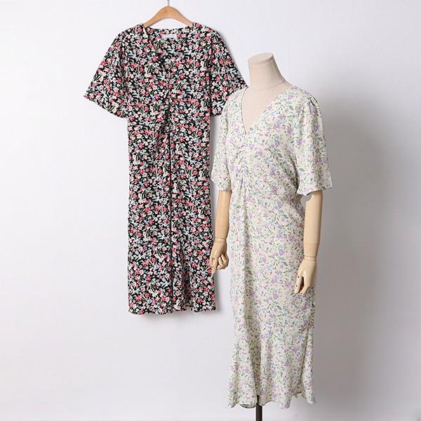 106 애쉬플라워셔링원피스 DYPD558 도매 배송대행 미시옷 임부복
