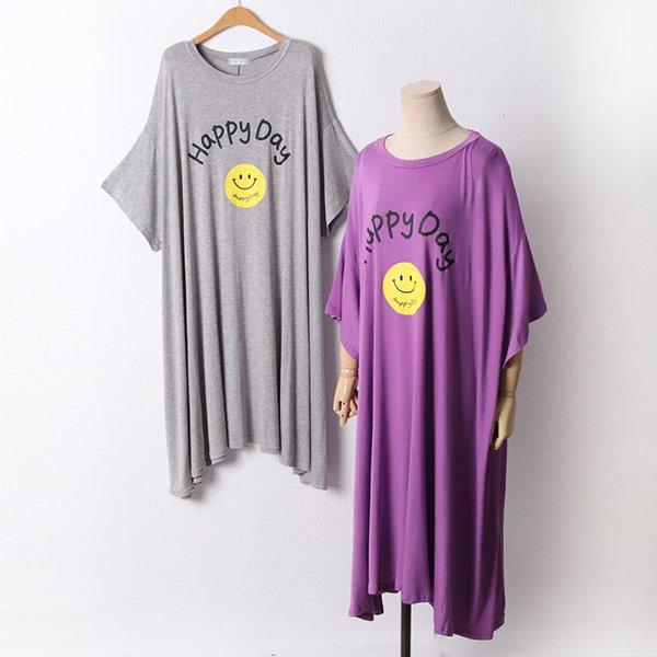 106 해피데이오버핏원피스 DRAD570 도매 배송대행 미시옷 임부복