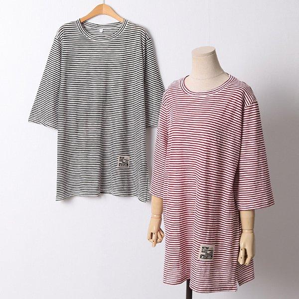 106 레트로트임5부티셔츠 DMND574 도매 배송대행 미시옷 임부복