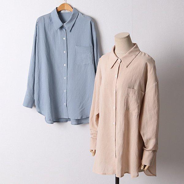 106 퓨어린넨썸머카라셔츠 DPED581 도매 배송대행 미시옷 임부복