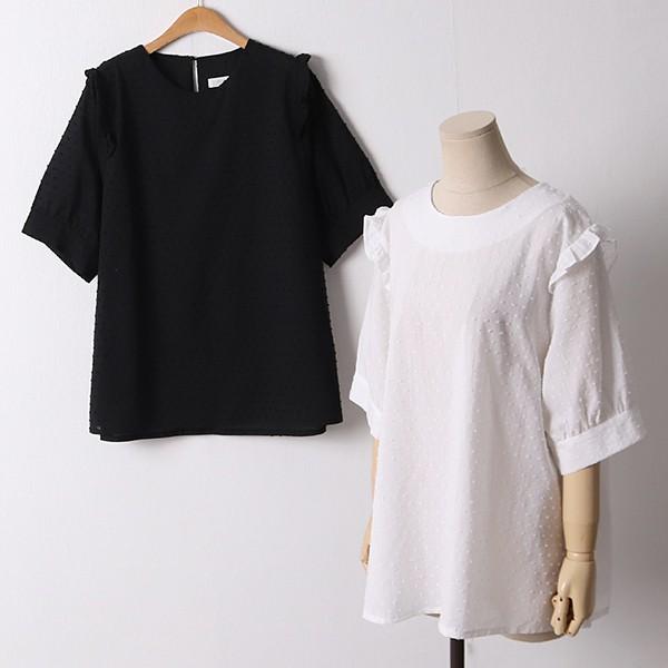 106 코코넛레이스블라우스 DLTD605 도매 배송대행 미시옷 임부복