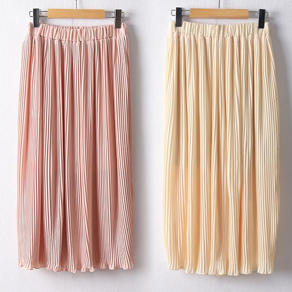 106 엔딩플리츠밴딩스커트 DAYD614 도매 배송대행 미시옷 임부복