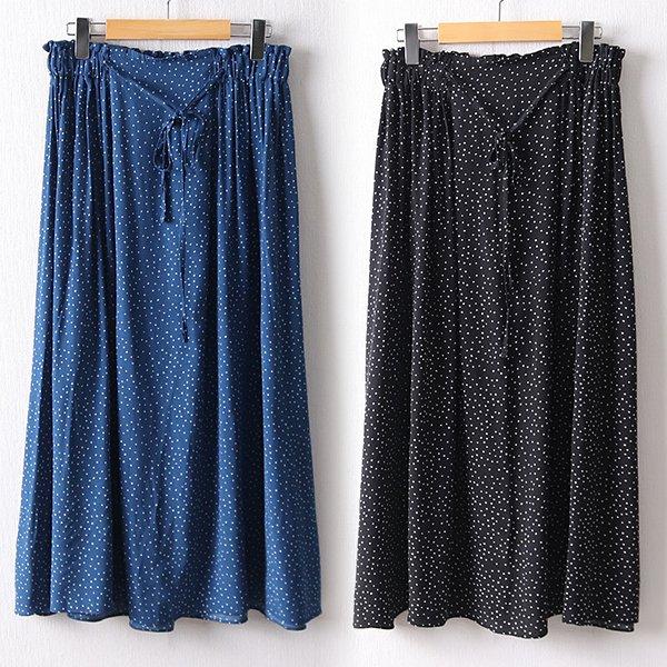 106 러빙도트밴딩롱스커트 DLYD616 도매 배송대행 미시옷 임부복