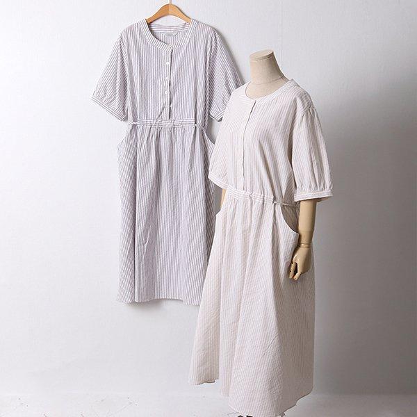 106 비스킷라운드넥원피스 DLYD617 도매 배송대행 미시옷 임부복
