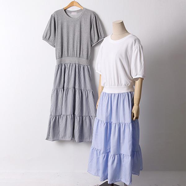 106 마가린라운드롱원피스 DCHD624 도매 배송대행 미시옷 임부복