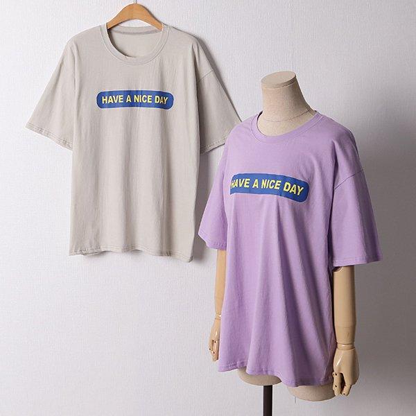 106 나이스데이오버핏반팔 DNSD634 도매 배송대행 미시옷 임부복
