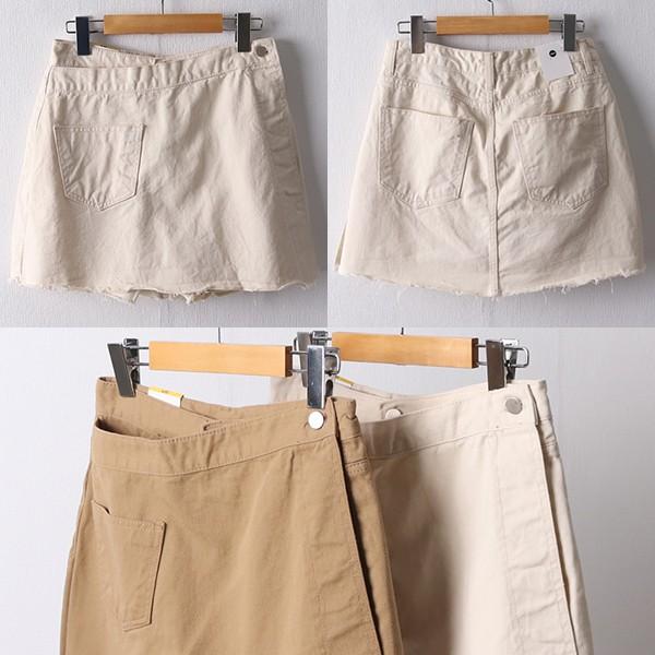 106 원스코튼랩팬츠스커트 DDOD636 도매 배송대행 미시옷 임부복