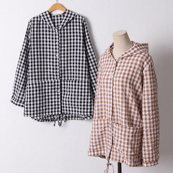 106 데일리스트링후드점퍼 DIRD647 도매 배송대행 미시옷 임부복