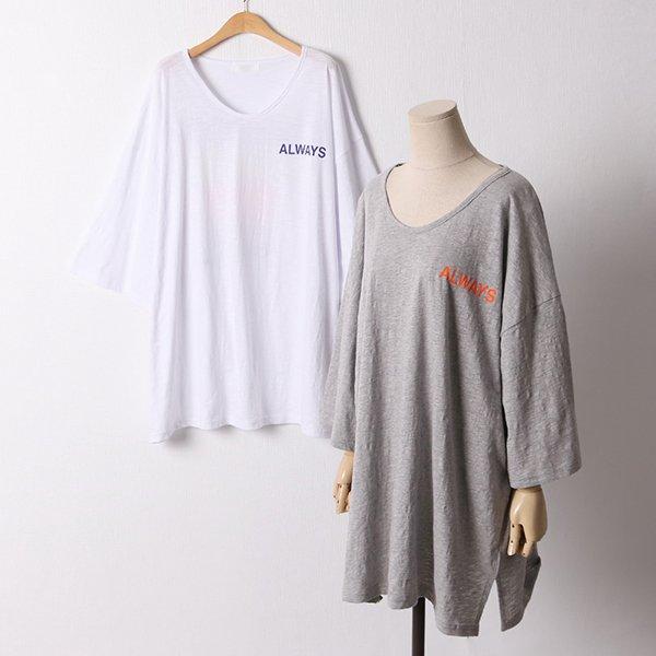 106 올웨이즈가오리티셔츠 DKYD652 도매 배송대행 미시옷 임부복