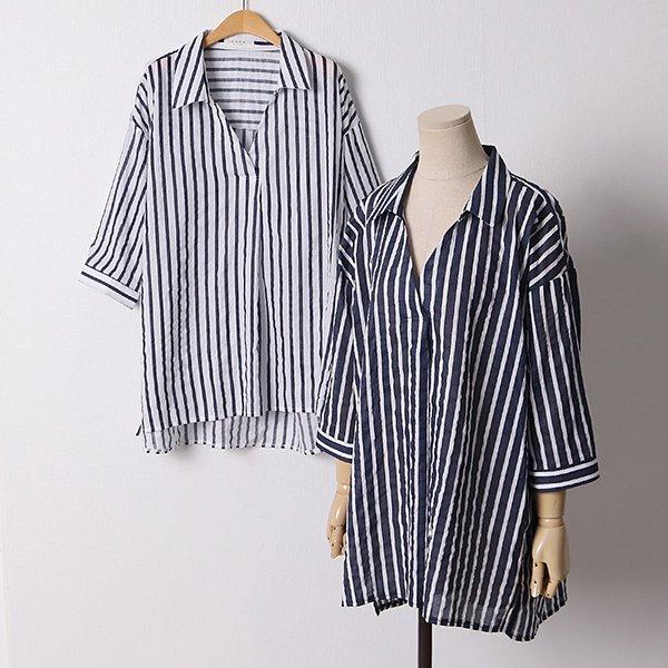 106 스탠다드줄지카라셔츠 DPED655 도매 배송대행 미시옷 임부복