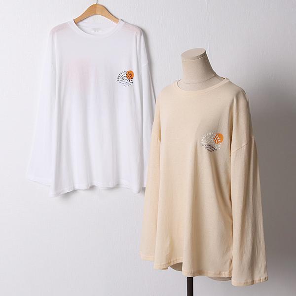 106 수퍼오버핏라운드긴팔 DMOD658 도매 배송대행 미시옷 임부복