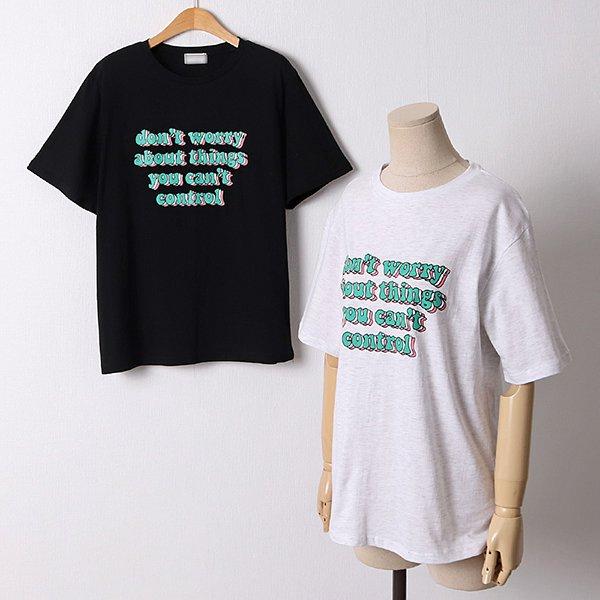 106 돈워리일자핏코튼반팔 DMOD660 도매 배송대행 미시옷 임부복