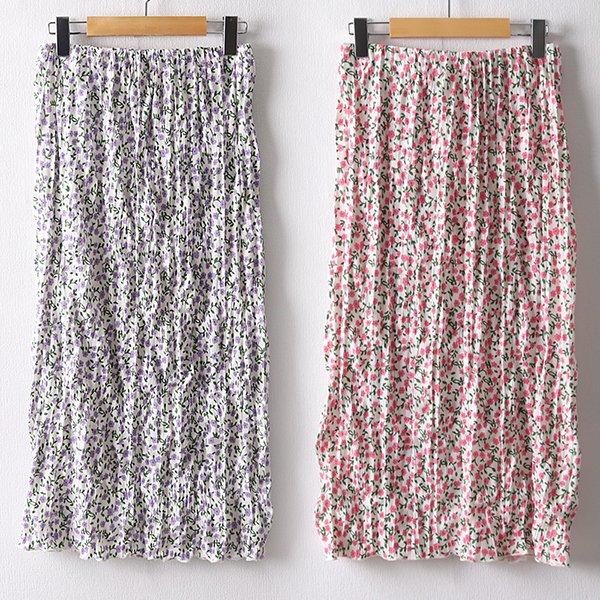 106 플라워셔링H롱스커트 DMOD661 도매 배송대행 미시옷 임부복