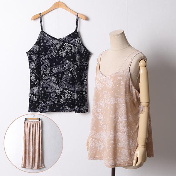 107 페이즐리통와이드세트 DGOD808 도매 배송대행 미시옷 임부복