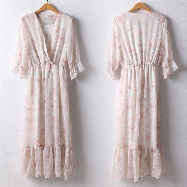 107 러블리디테일롱원피스 DBRD810 도매 배송대행 미시옷 임부복
