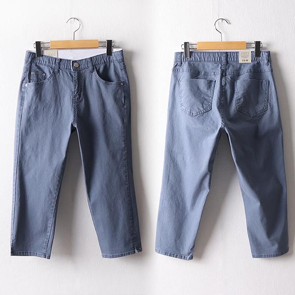 107 은은한디테일7부팬츠 DMDD814 도매 배송대행 미시옷 임부복