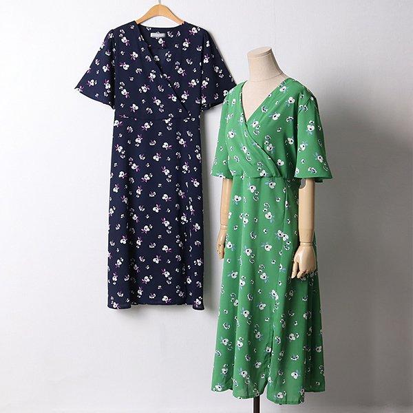 107 베이즈플라워랩원피스 DYPD824 도매 배송대행 미시옷 임부복