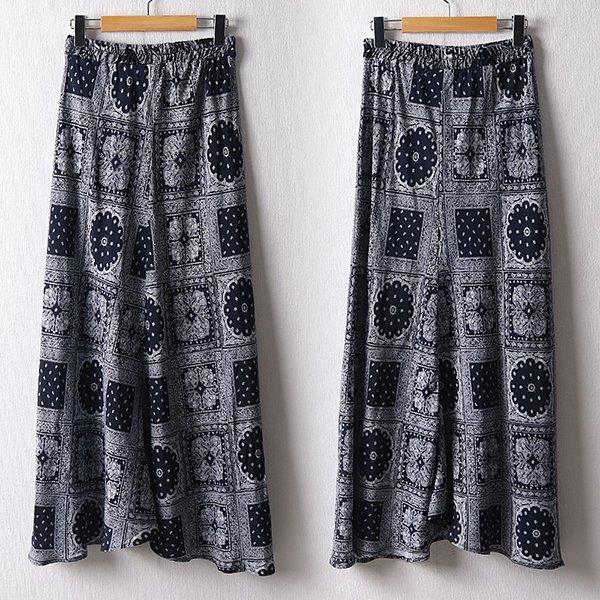107 페이즐리레이온스커트 DDLD828 도매 배송대행 미시옷 임부복