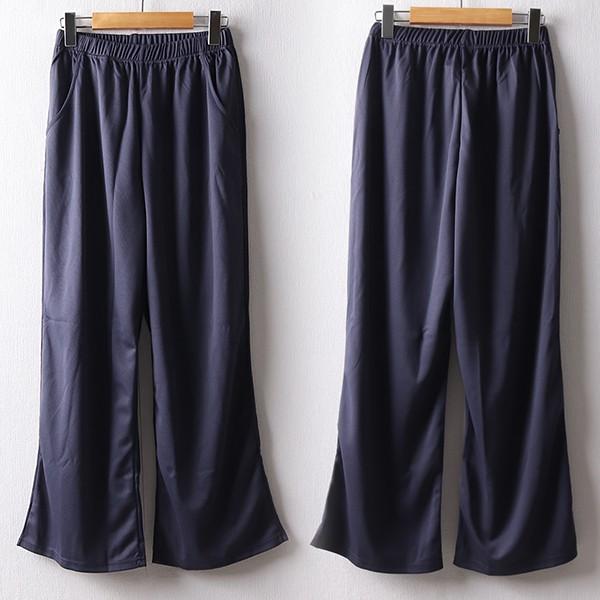 107 무지통와이드스판팬츠 DBMD829 도매 배송대행 미시옷 임부복