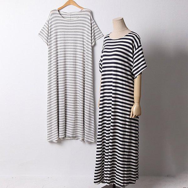 107 블랭크라운드넥원피스 DRAD832 도매 배송대행 미시옷 임부복