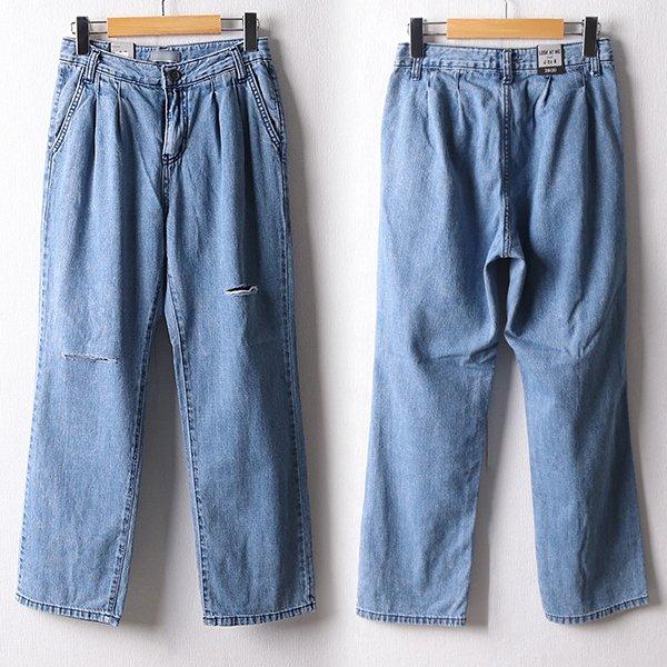 107 더블핀턱주름일자팬츠 DLOD837 도매 배송대행 미시옷 임부복