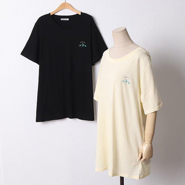 빅사이즈 107 파이어오버핏코튼반팔 DLYD848 도매 배송대행 미시옷 임부복