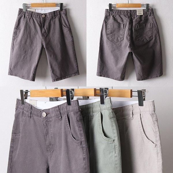 107 피그먼트밴딩5부바지 DMDD860 도매 배송대행 미시옷 임부복