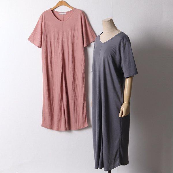 107 페스세로절개롱원피스 DIRD870 도매 배송대행 미시옷 임부복