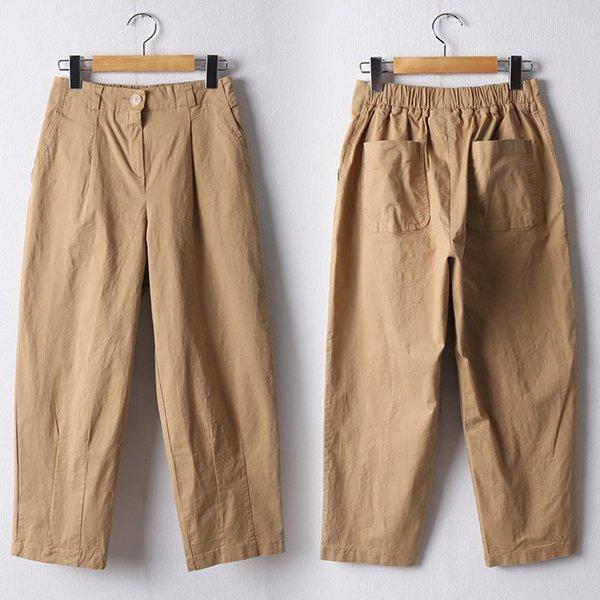 107 포아핀턱8부코튼팬츠 DMDD871 도매 배송대행 미시옷 임부복
