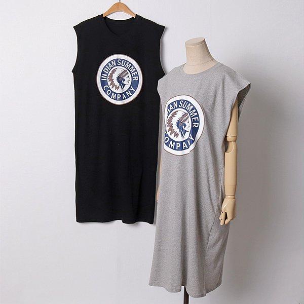 107 인디언프린팅롱원피스 DNSD875 도매 배송대행 미시옷 임부복